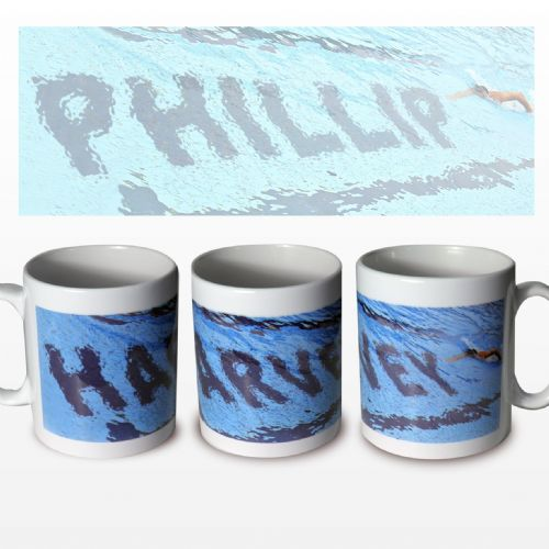 Personalised Swimmer Mug